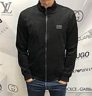 Мужская куртка ветровка Armani D9883 черная