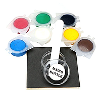 Набор Цветных Полимеров для Ремонта Кожи и Винила Leather Vinyl Repair Kit