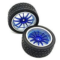 Колесо с шестиугольным креплением 65 мм, темно синее