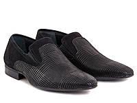 ETOR туфли мужские черные