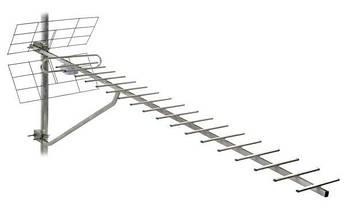 ТВ-антенна Т2 Energy 1,5 м с усилителем