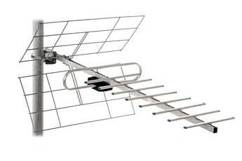 ТВ-антенна Т2 Energy 0,7 м с усилителем