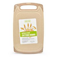 Разделочная доска из Пшеничной шелухи SHEYAR R29040 ЭКО 21х35 см