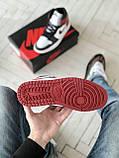 Стильні чоловічі кросівки Jordan 1 Retro, фото 6