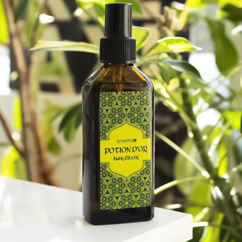 Эликсир для волос Sinergy Potion D'or с аргановым маслом