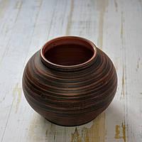Гончарная ваза ручной работы Витязь h 11 см