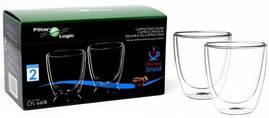 Набір склянок Filter-Logic cappuccino 300 ml. (2 шт.)