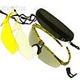 Очки защитные Oakley 3-lens Kit Desert(камыш)  13215, фото 2