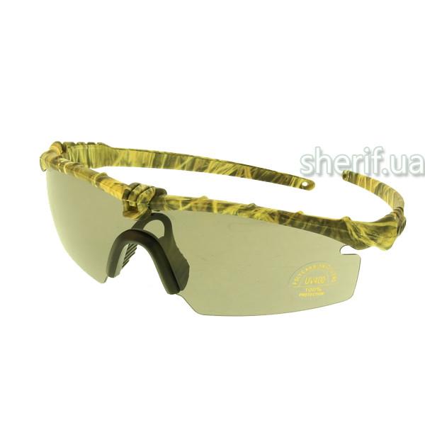 Очки защитные Oakley 3-lens Kit Desert(камыш)  13215