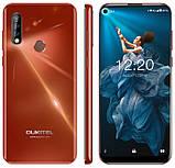 Смартфон оукител красный с тройной камерой и большим экраном на 2 сим карты  Oukitel C17 Pro Red, фото 2