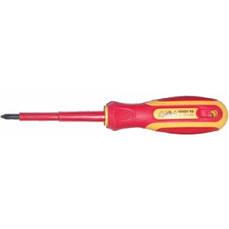 Отвертка диэлектрическая SIGMA PH 1x100мм , 1000В