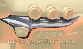 MANSORY console middle panel for Ferrari F12 Berlinetta