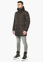Braggart Dress Code 32045 | Мужская зимняя куртка цвета кофе, фото 3