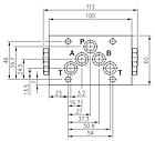 Гидрораспределитель с автоматическим переключением 4/2RHA-10/20, фото 2