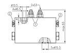 Гидрораспределитель с автоматическим переключением 4/2RHA-10/20, фото 3