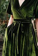 Гарне плаття мармур велюр, оксамит, на запах, колір на вибір, розмір 42-74+ батал, великий розмір