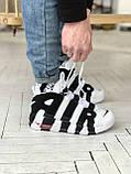 Стильні кросівки Nike Air More Uptempo, фото 7