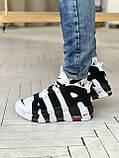 Стильні кросівки Nike Air More Uptempo, фото 4