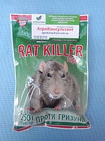 Препарат от мышей Рат Киллер Супер 250 гранул — гранулы от крыс и мышей