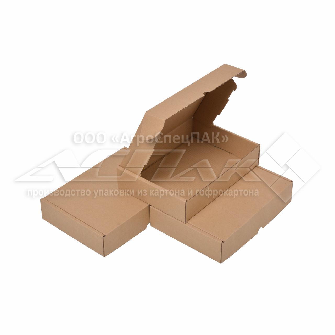 Коробка картонная 24х17х5 (см) 0,5 кг. бурая. Коробки для Новой почты 240 х 170 х 50 мм.