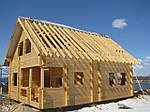 Будівництво лазні на дачі