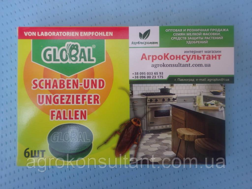 Global (Глобал), 6 дисков — ловушки для тараканов и муравьев