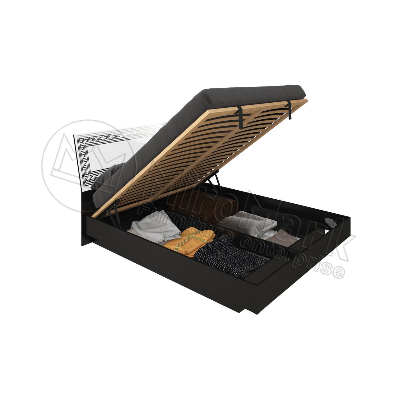 Кровать Виола с подъемным механизмом и каркасом ТМ Миро Марк