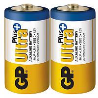 Батарейка щелочная GP 14AUP-S2 Ultra alkaline PLUS. LR14, C, трей