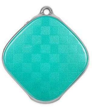 Кулон з GPS трекером GoGPSme D15 Зелений
