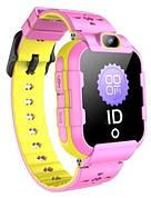 Детские телефон-часы с GPS-трекером GoGPSme ME K22 Розовый
