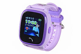 Детские телефон-часы с GPS-трекером GoGPSme ME K25 Пурпурный
