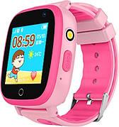 Детские телефон-часы с GPS-трекером GoGPSme ME K14 Розовый