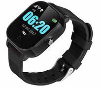 Детские телефон-часы с GPS трекером GoGPSme К23 Черный