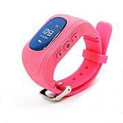 Детские телефон-часы с GPS-трекером GoGPSme ME K50 Розовый