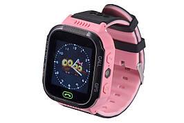 Детские телефон-часы с GPS-трекером GoGPSme ME K12 Розовый