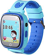 Детские телефон-часы с GPS-трекером GoGPSme ME K14 Синий