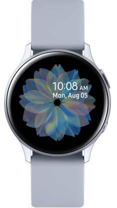 Смарт-часы Samsung Galaxy Watch Active 2 Aluminiuml 44мм Серебристый (R820), фото 2