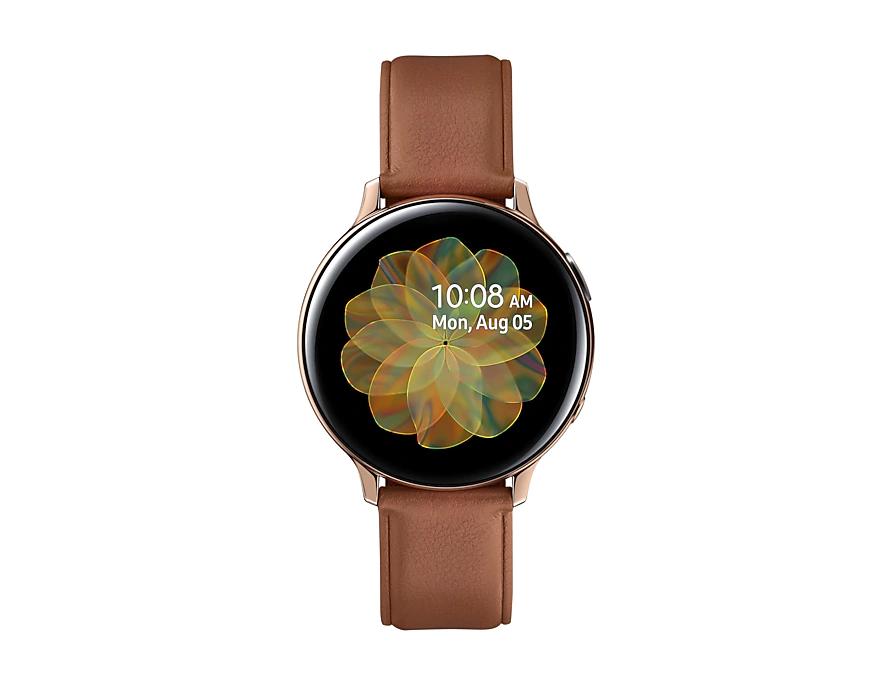 Смарт-часы Samsung Galaxy Watch Active 2 Stainless steel 44мм Золотистый (R820)