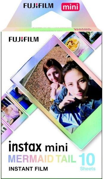 Фотобумага Fujifilm INSTAX MINI FILM MERMAID TAIL (54х86 мм) 10 шт.