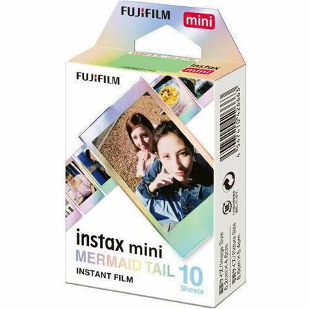 Фотобумага Fujifilm INSTAX MINI FILM MERMAID TAIL (54х86 мм) 10 шт., фото 2