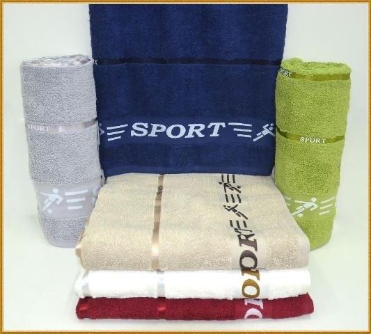 Полотенце банное 6 штук Cestepe VIP Cotton 70x140 см, 2642_sport