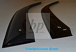 Дефлекторы окон (ветровики) BMW X6 f16 (бмв х6 ф16) 2014+, фото 2