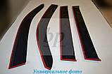 Дефлекторы окон (ветровики) BMW X6 f16 (бмв х6 ф16) 2014+, фото 3