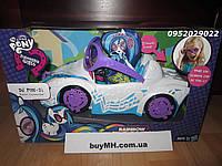 Машина пони My Little Pony Equestria Girls Rainbow Rocks DJ PON-3 Rockin' Convertible Vehicle, фото 1