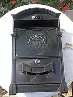 Почтовый ящик с гербом (два льва)