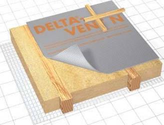 DELTA-VENT N диффузионная плёнка, Sd=0,02 м