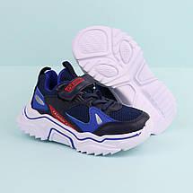 7526A Детские кроссовки для мальчика синие тм Boyang размер 28,29,30, фото 3