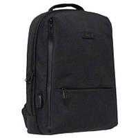 """Рюкзак """"Safari"""" PL,1від.,чорний,44x31x14см №20-158L"""