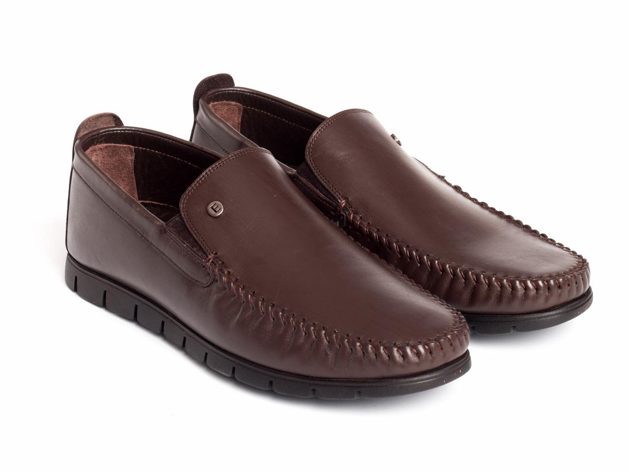 Мокасини Etor 15498-49315-1 коричневий