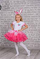 Детский карнавальный костюм Зайчика для девочки
